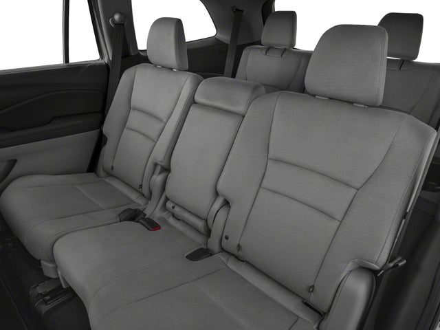 2018 honda pilot seating capacity 8